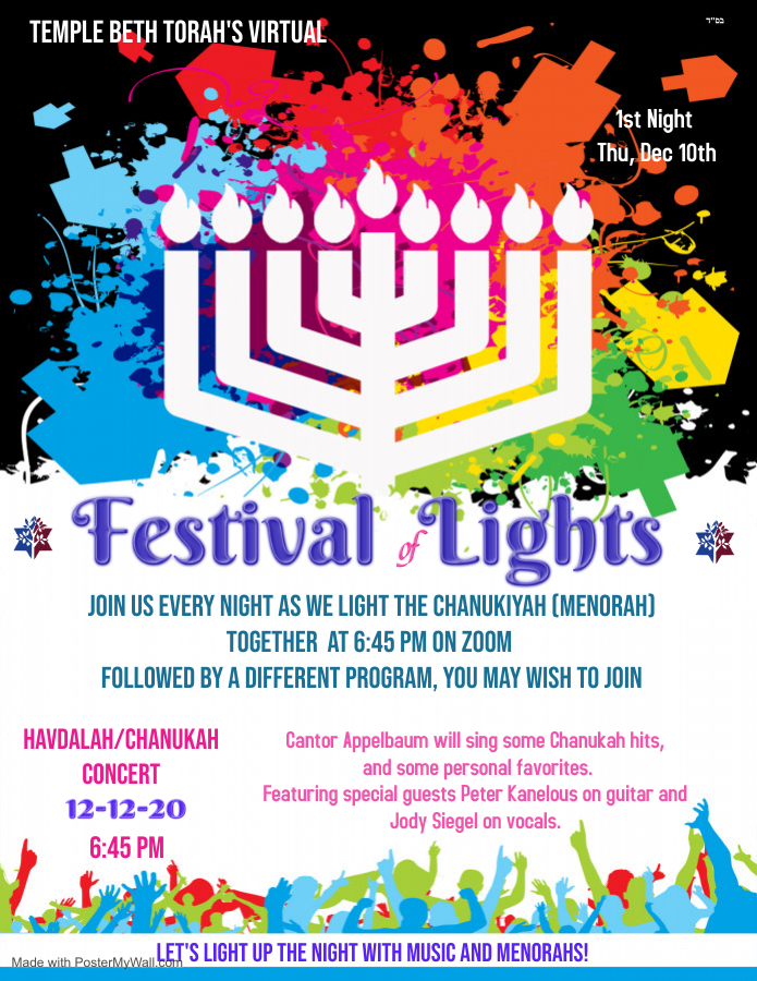Chanukah Festival of Lights 2020