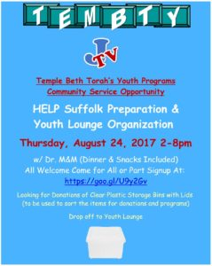 Help Suffulk Prep YL Clean up 2017 2018